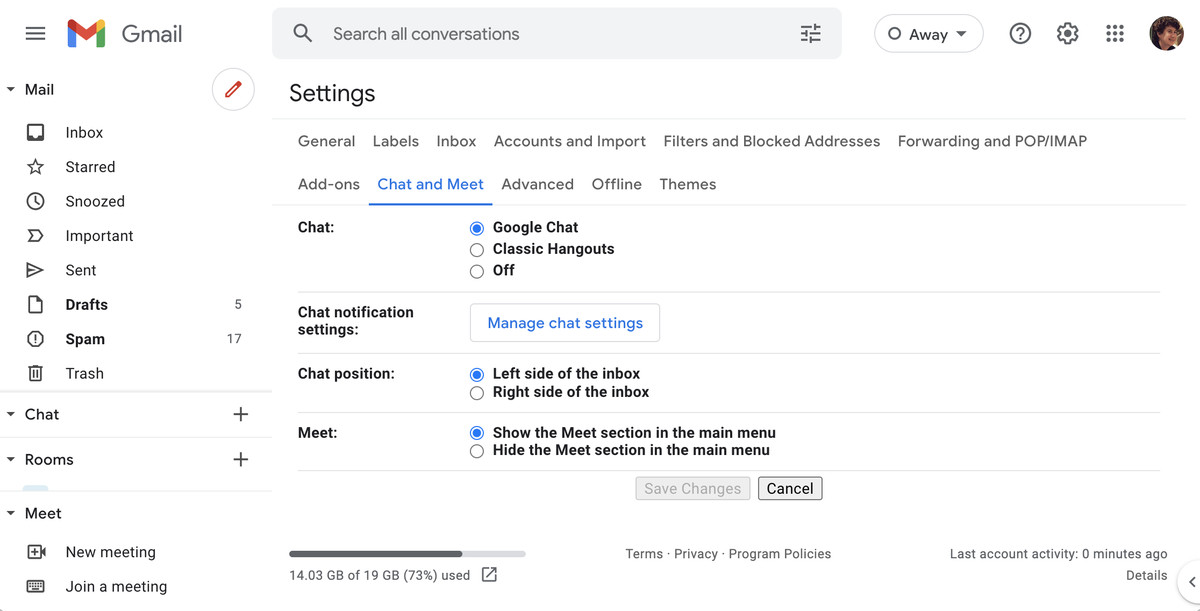 Read more about the article How to hide Google Meet in Gmail's desktop app