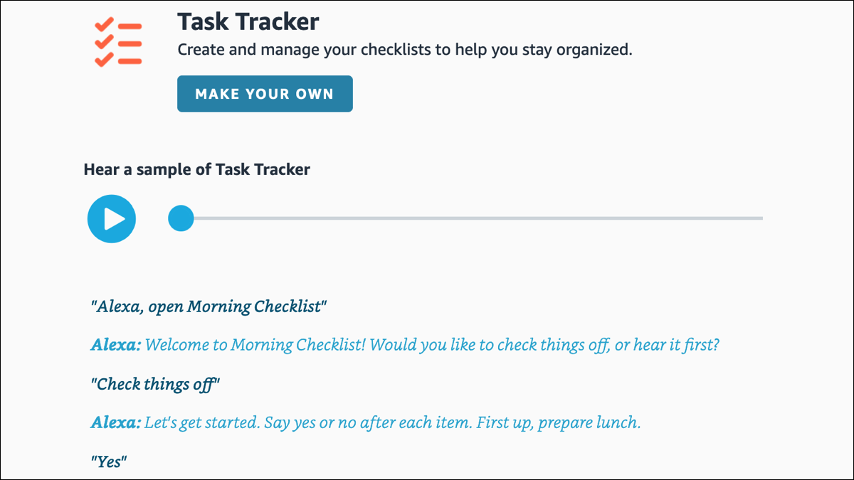 Read more about the article How to Create a Task Checklist with Amazon Alexa