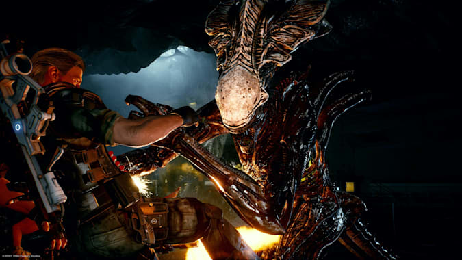 Read more about the article 'Aliens: Fireteam Elite' is an arcade shooter for the online era