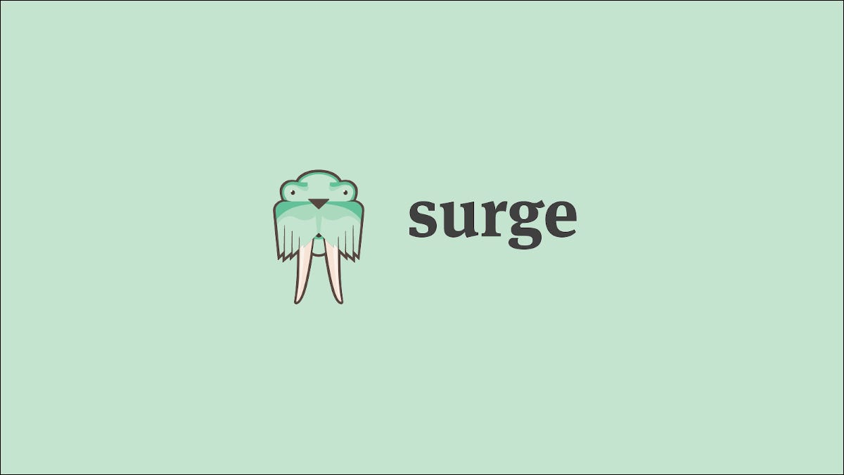 Read more about the article How to Deploy Static Websites For Free With Surge.sh – CloudSavvy IT