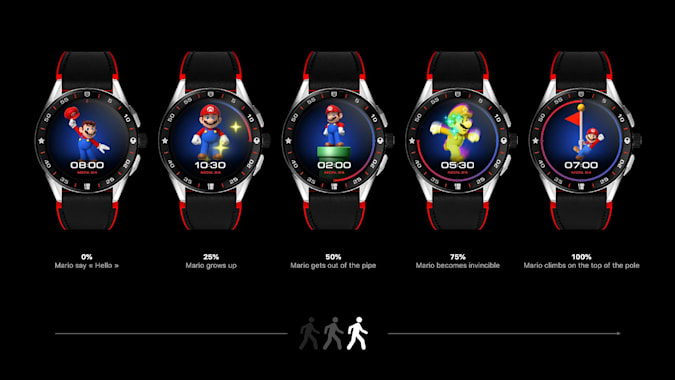 Read more about the article Tag Heuer made a Super Mario-themed smartwatch because why not