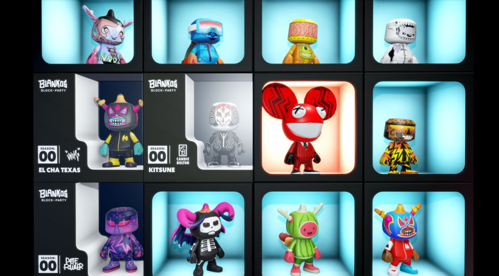 Read more about the article Blankos Block Party will drop Deadmau5 limited edition NFT collectibles