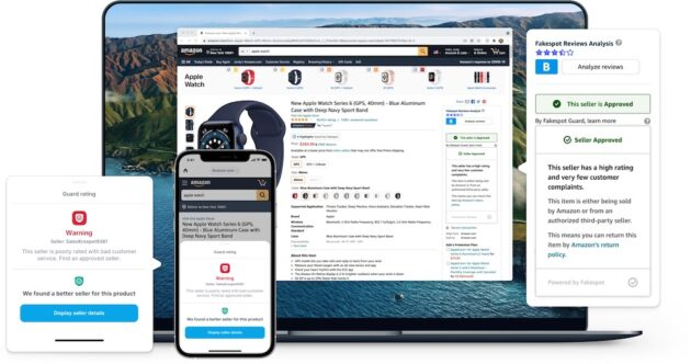 Read more about the article After concerns from Amazon, Apple removes product review analyzer Fakespot from App Store