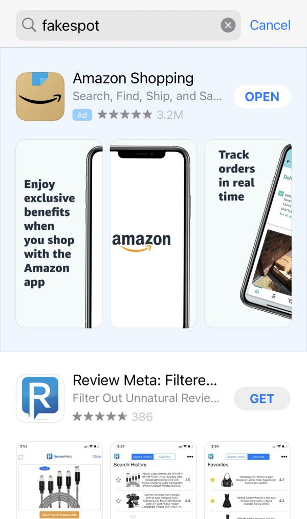 Read more about the article Amazon just got Fakespot booted off Apple's iOS App Store