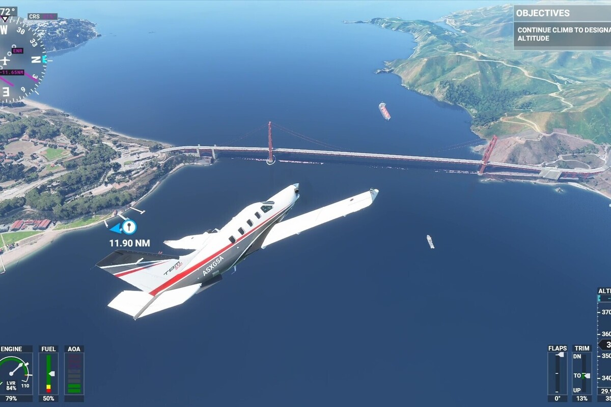 Read more about the article The next Flight Simulator update will run on an average gaming PC