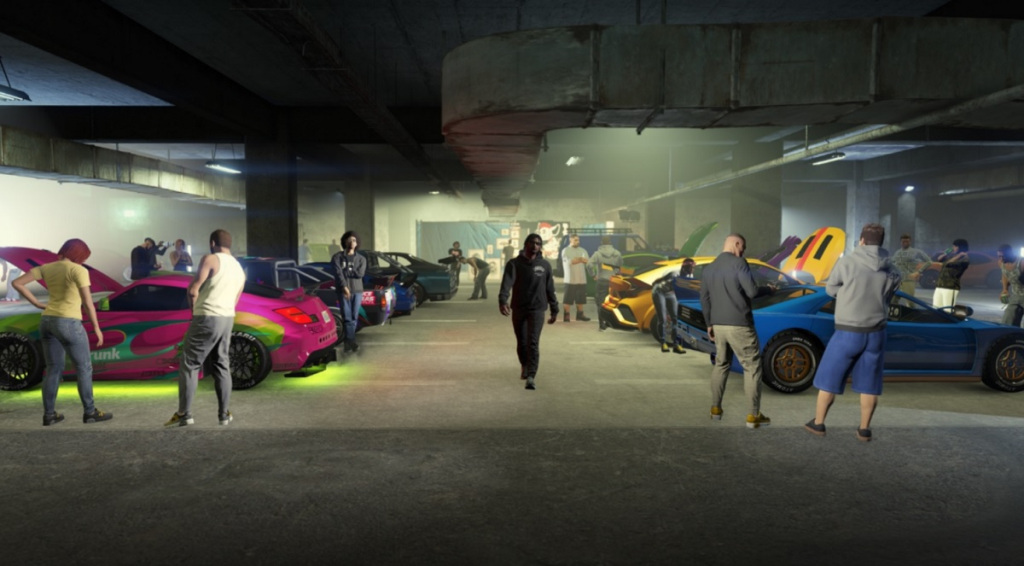 Read more about the article GTA Online gets a big update with combat-free Los Santos Tuners social space