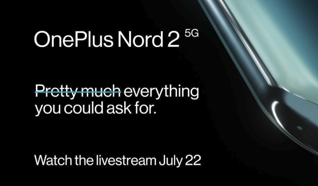 Read more about the article How to watch the OnePlus Nord 2 launch today live