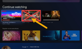 How to Hide Movies & TV from Google TV Continue Watching