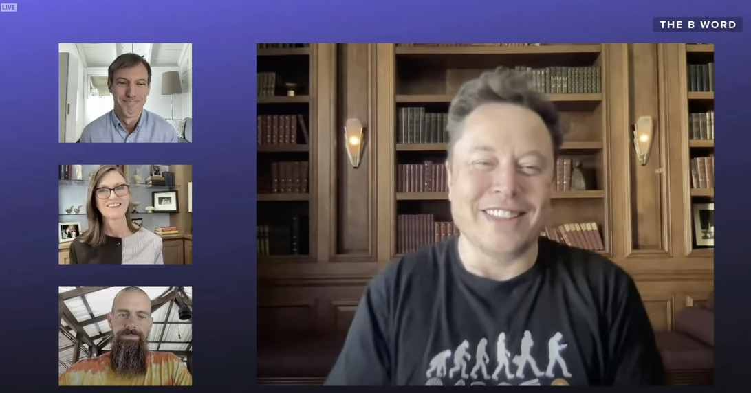 Read more about the article Elon Musk, Jack Dorsey talk future of Bitcoin and cryptocurrency