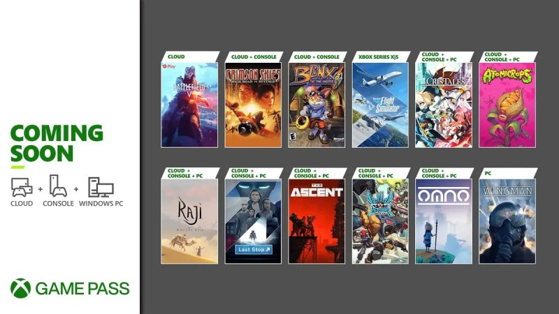 Read more about the article Xbox Game Pass Adding 12 New Games, Including The Ascent And Microsoft Flight Simulator