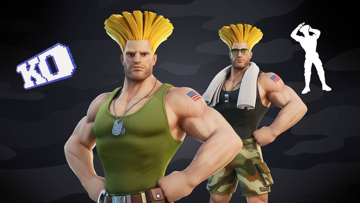 Read more about the article Street Fighter's Guile and Cammy are coming to Fortnite
