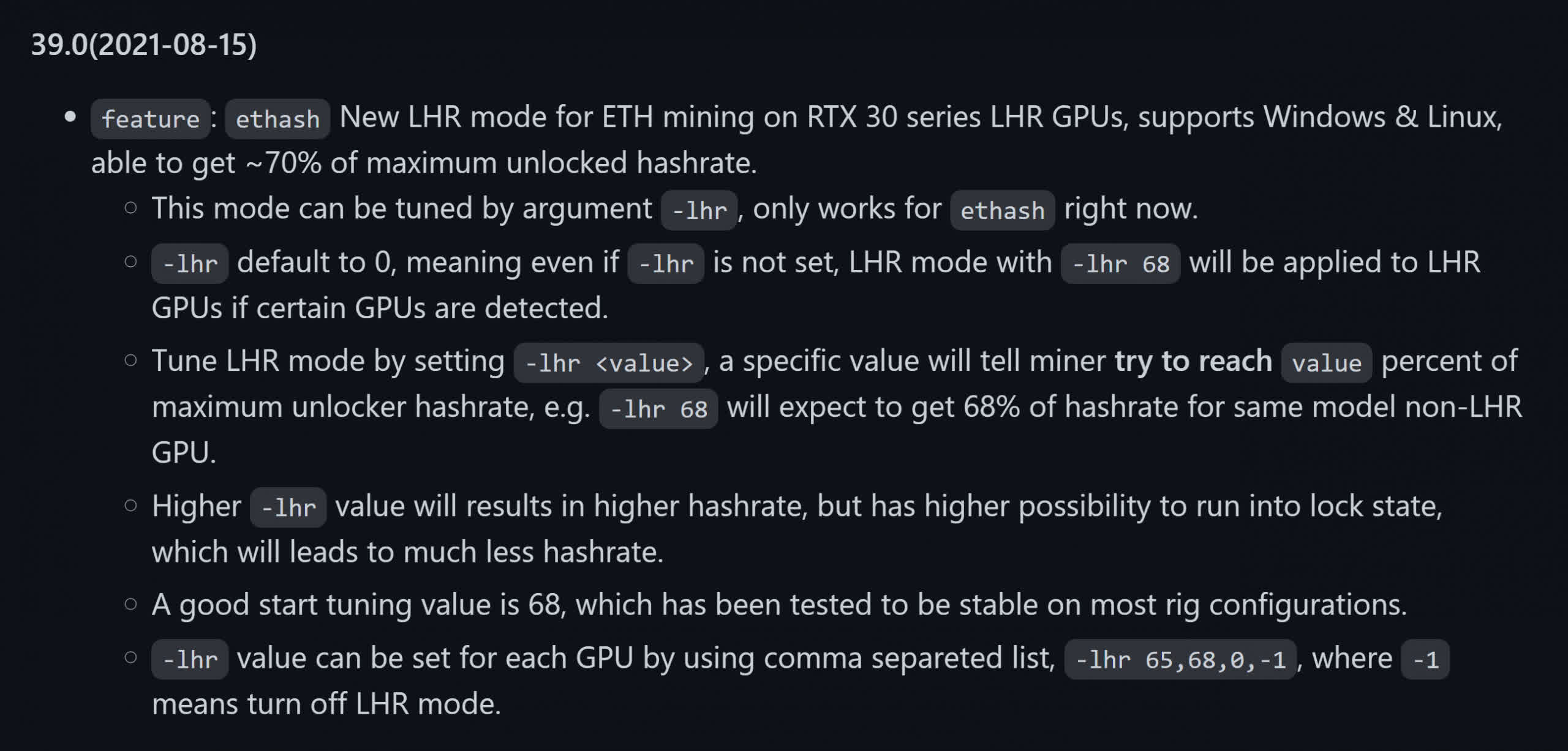 Read more about the article Nvidia RTX 3000 LHR cards' limiter partially bypassed, increasing mining performance to 70%