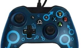 Chasdi Xbox one Wired Controller for All Xbox One Models, Series X S, and PC V2 (Blue)