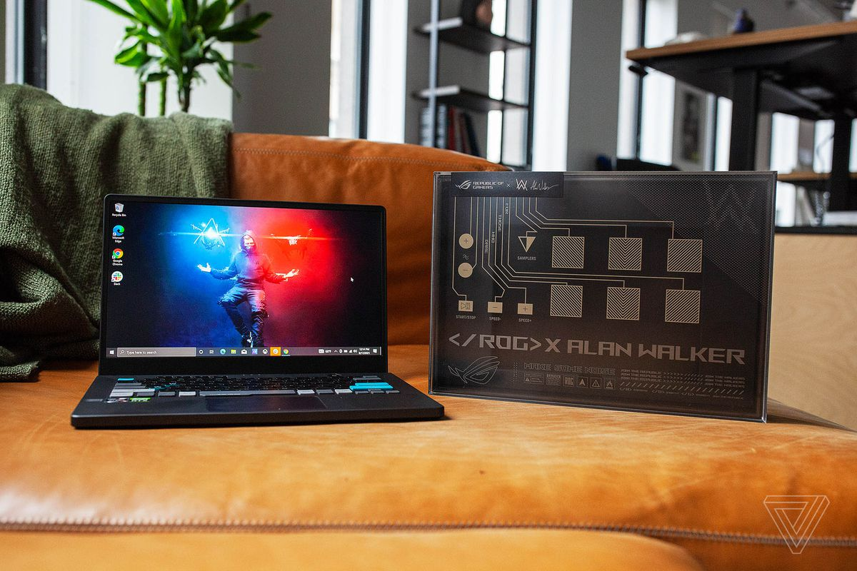 Read more about the article Asus ROG Zephyrus G14 Alan Walker Edition review