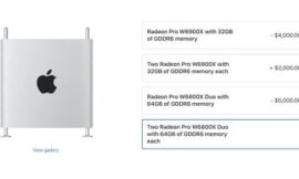 Apple Introduces New High-End Graphics Options for Mac Pro