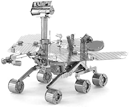 Read more about the article Metal Earth Fascinations Mars Rover 3D Metal Model Kit