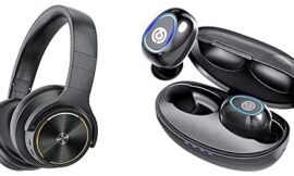 Cystereo ANC Headphones and Earbuds Bundle