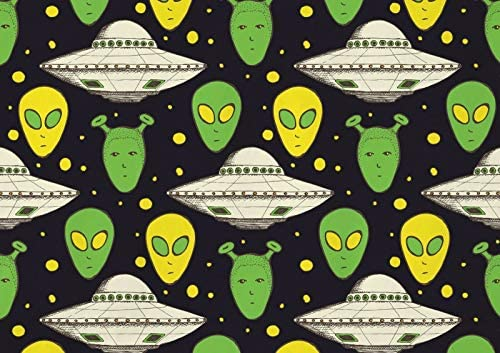 Read more about the article A1 Cool Green Aliens Poster Art Print 60 X 90cm 180gsm UFO Space Fun Gift #16882