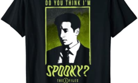 The X-Files Mulder Do You Think I'm Spooky T-Shirt
