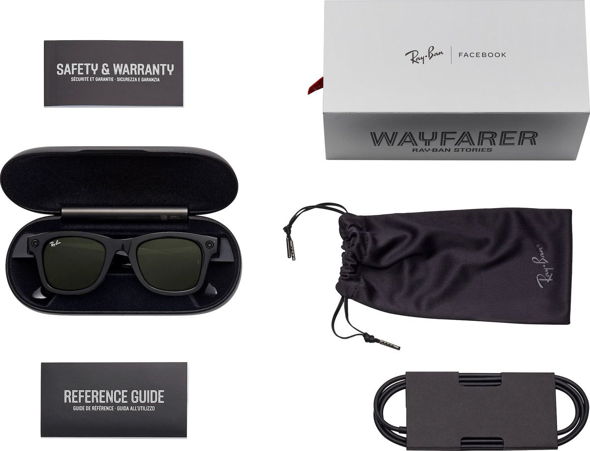 Read more about the article Facebook and Ray-Ban's smart glasses leak before launch