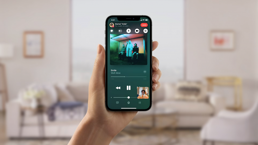 Read more about the article iOS 15.1 beta suggests SharePlay imminent