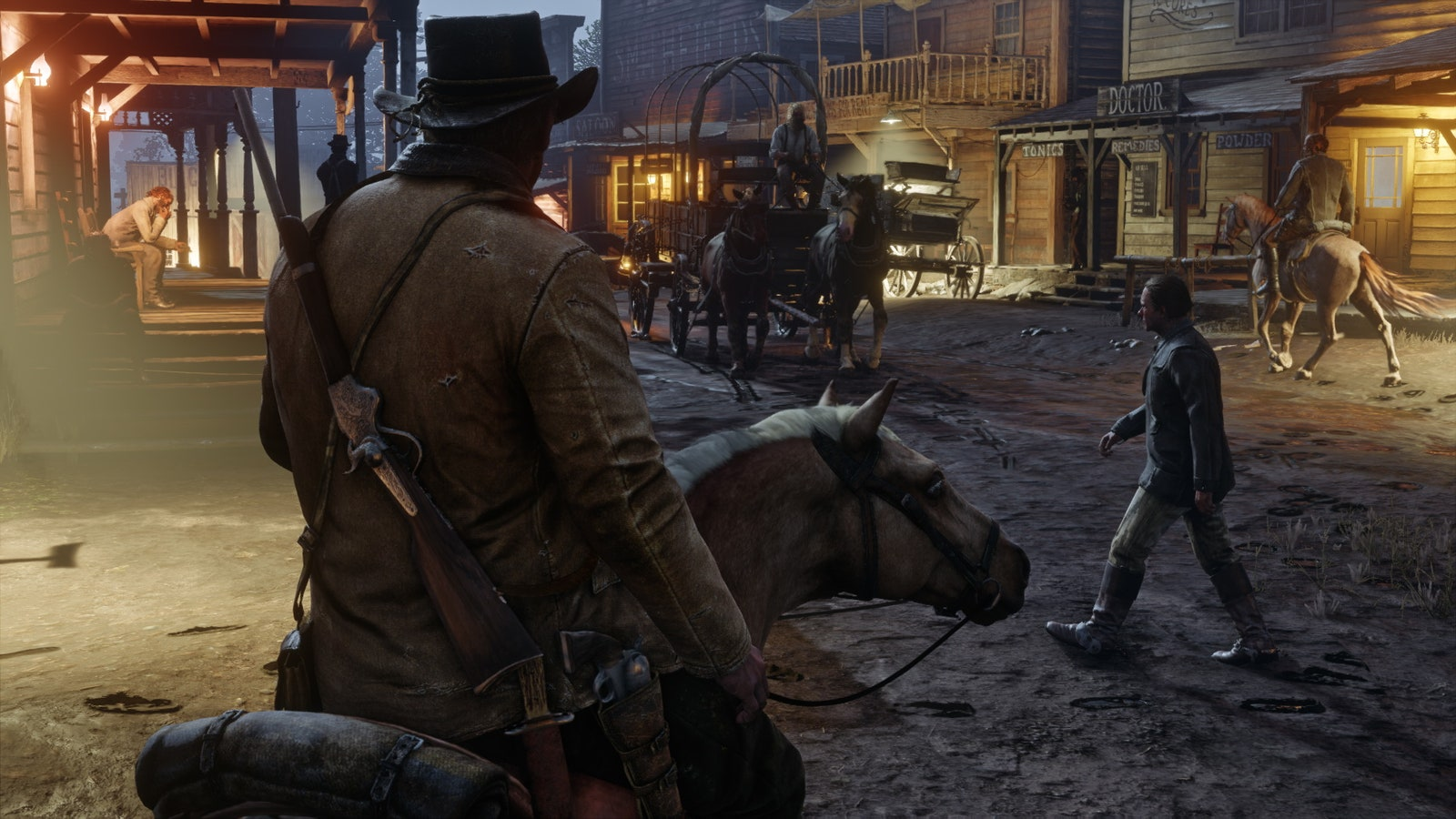 Read more about the article In 'Red Dead Redemption,' the Wild West Is a Refuge