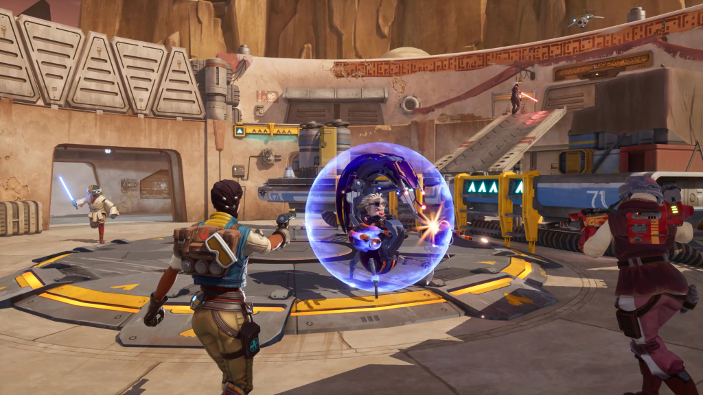 Read more about the article Star Wars: Hunters is an arena battler set after Return of the Jedi