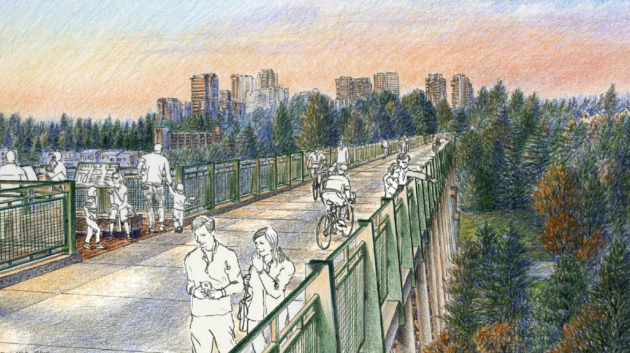 Read more about the article Amazon gives $7.5M to complete bike and walking trail in Bellevue, where it is growing rapidly