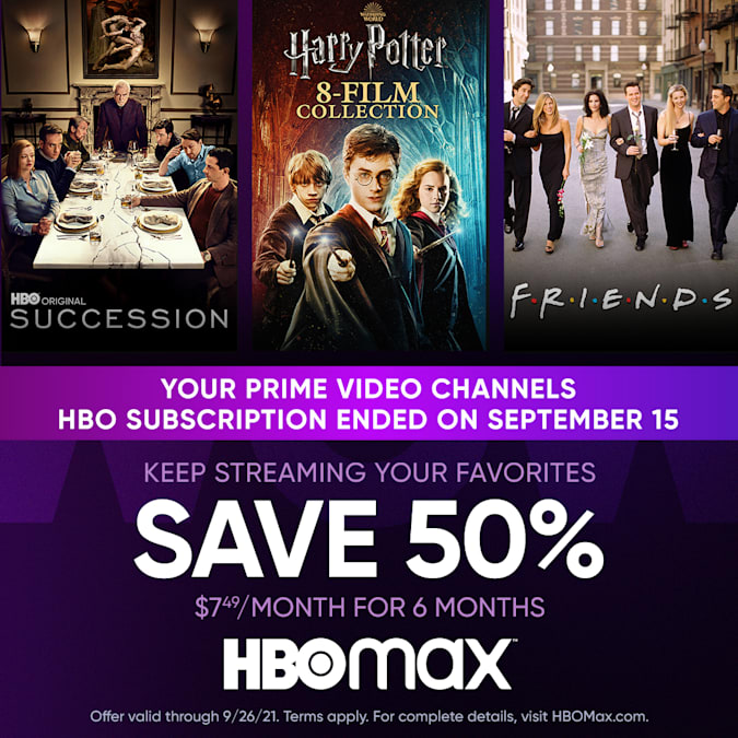 Read more about the article HBO Max promo offers 50 percent off subscriptions until September 26th