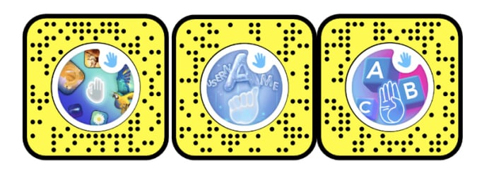Read more about the article Snapchat's new lenses and stickers can teach you basic sign language