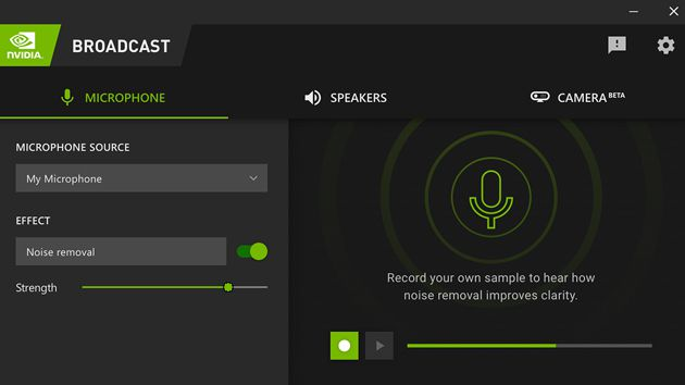 Read more about the article Nvidia Broadcast now works with more cameras and uses less VRAM