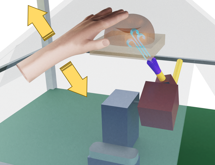 Read more about the article Researchers have created holograms you can touch