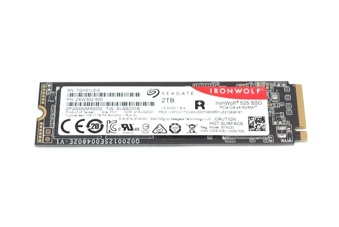 Read more about the article Seagate Introduces IronWolf 525 PCIe 4.0 M.2 NVMe SSDs for NAS Systems
