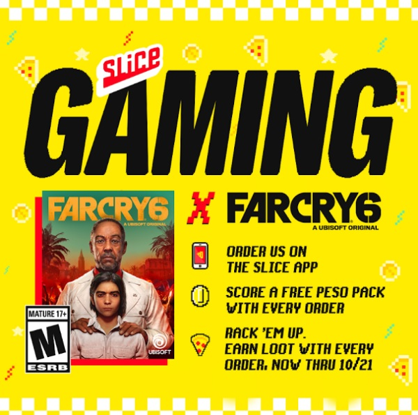 Read more about the article Slice Gaming offers in-game rewards for Far Cry 6 with pizza purchases
