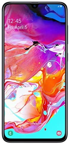 Read more about the article Samsung Galaxy A70 128GB/6GB SM-A705MN/DS 6.7″ HD+ Infinity-U 4G/LTE Factory Unlocked Smartphone (International Version, No Warranty) (Black) (Renewed)