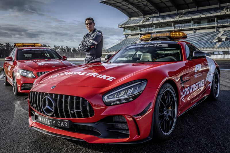 Read more about the article Ever wondered about the F1 safety car? We talk to its driver