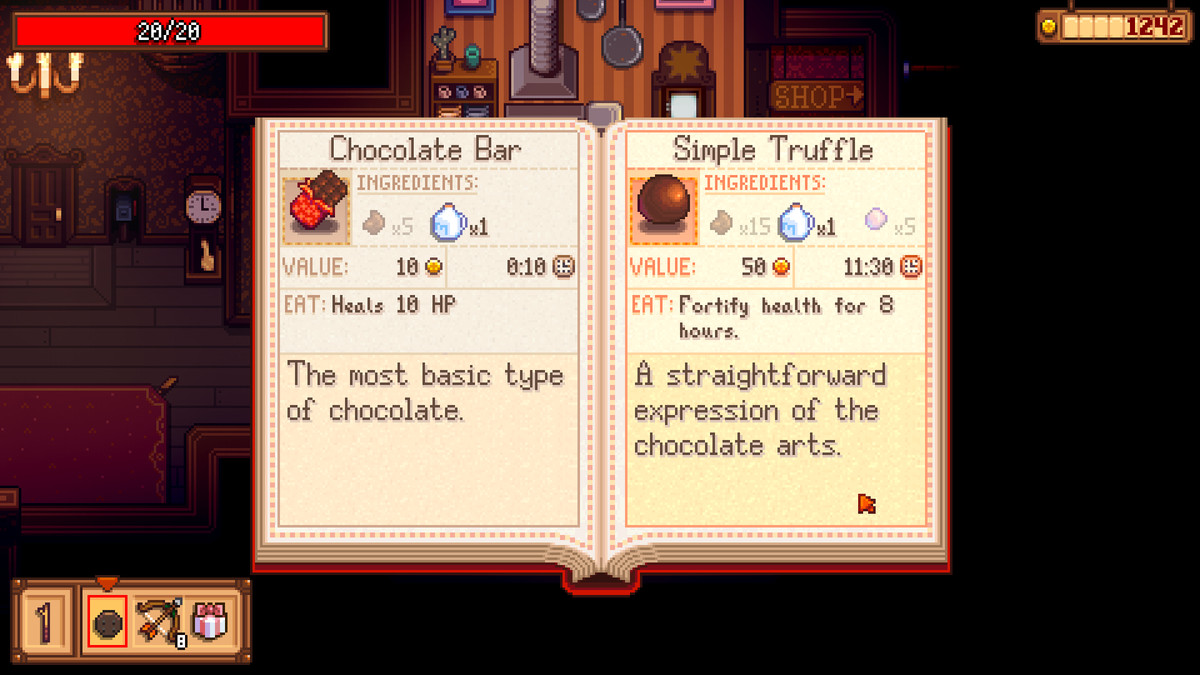 Read more about the article Stardew Valley creator reveals next game, Haunted Chocolatier