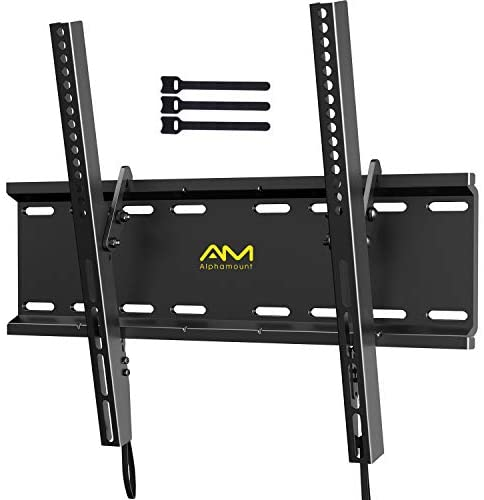 Read more about the article Tilting TV Wall Mount Bracket for 23-55 Inch LED LCD OLED Flat Screen/Curved TVs-Low Profile TV Wall Mount Holds up to 115lbs-Easy Install with All Hardware Included, Max VESA 400x400mm APPSMTK1