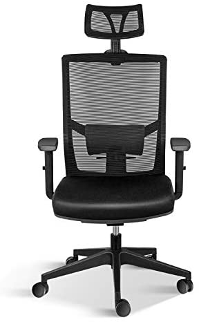 Read more about the article Simple Deluxe Task Office Chair Ergonomic Mesh Computer Chair with Wheels and Arms and Lumbar Support Adjustable Height Study Chair for Students Teens Men Women for Dorm Home Office,Black