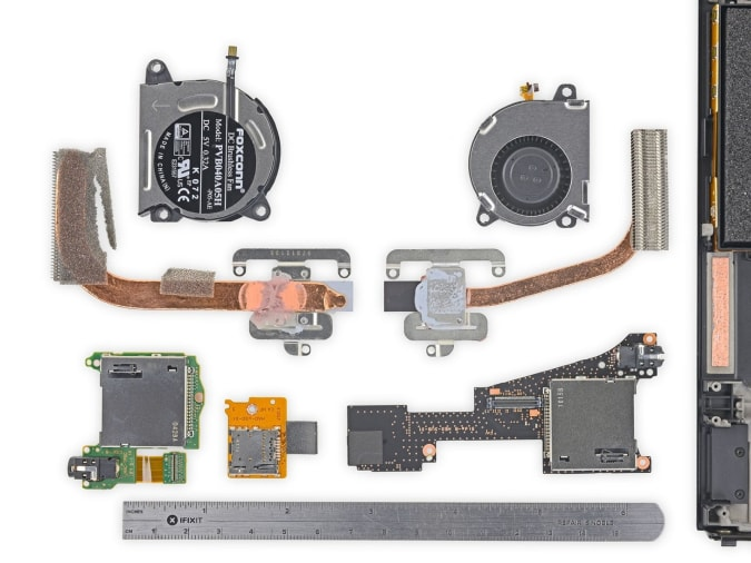 Read more about the article OLED Switch teardown reveals smaller cooler assembly