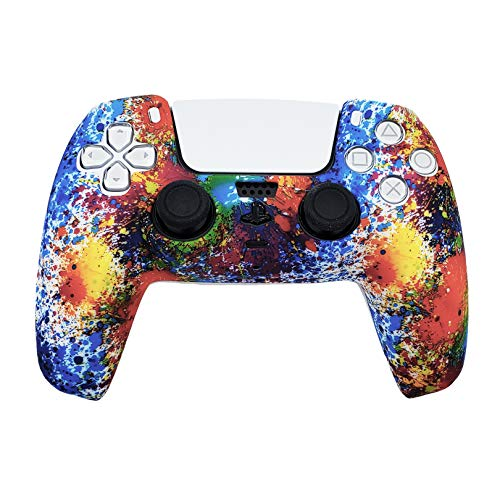 Read more about the article PS5 Silicone Gel Grip Controller Cover Skin Protector (ps5 Rainbow) Compatible for Sony Playstation 5, Compatible for Playstation 5 Accessories, Wireless Controller Protector Covers, PS5 Skin