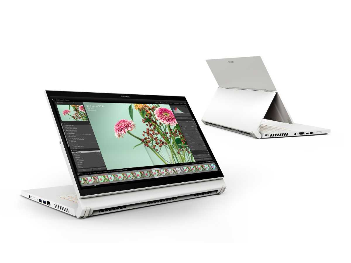 Read more about the article Acer's ConceptD creator laptops get glassless 3D, Ezel hinges, and 16:10