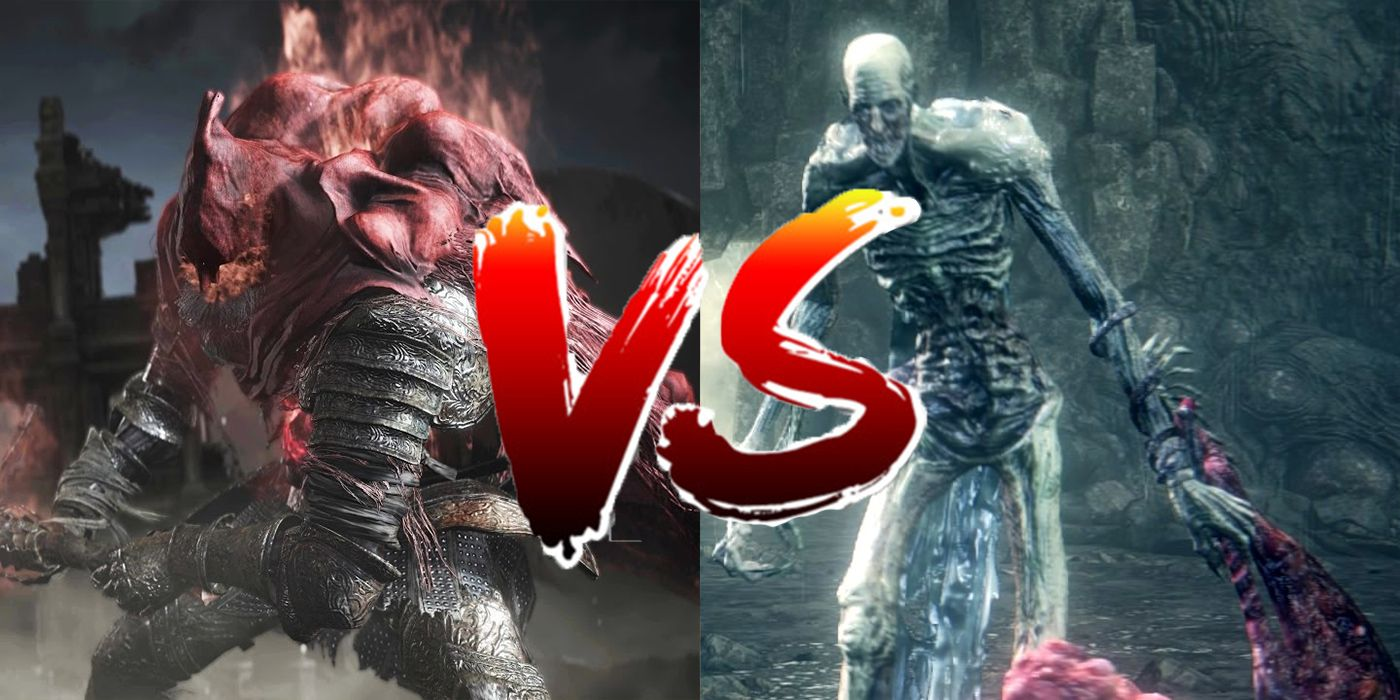 Read more about the article Dark Souls 3 & Bloodborne DLCs' Final Bosses Fight Each Other In New Mod