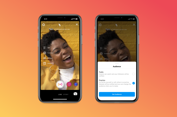 Read more about the article Instagram's new practice mode will help you avoid live video goof ups