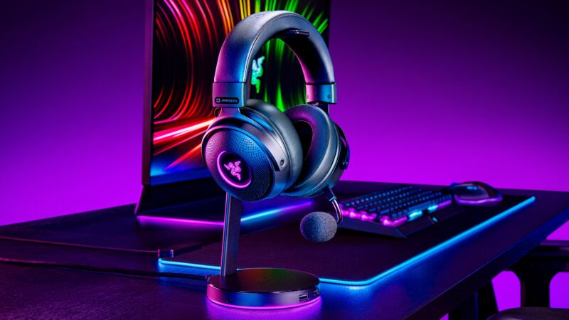 Read more about the article Razer's new Kraken gaming headsets bring controller-like vibrations to your head