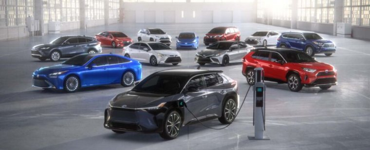 Read more about the article Toyota sets aside $3.4 billion for American electric vehicle batteries