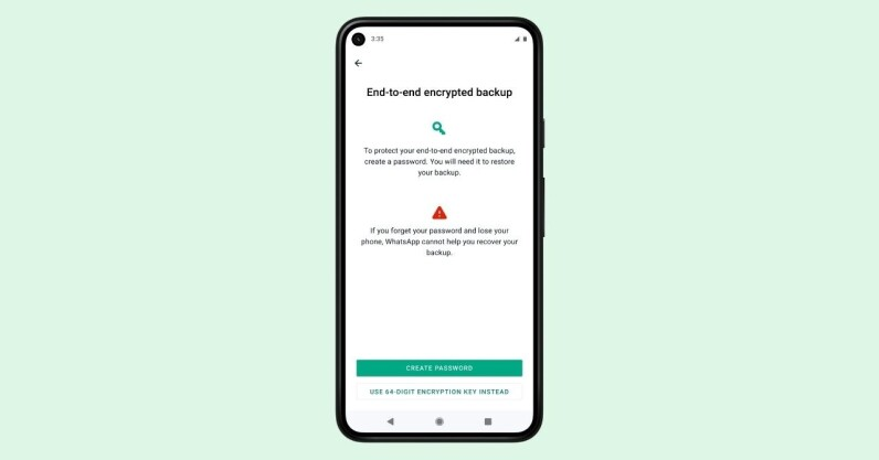Read more about the article WhatsApp now offers encrypted backups. Here's how to opt in