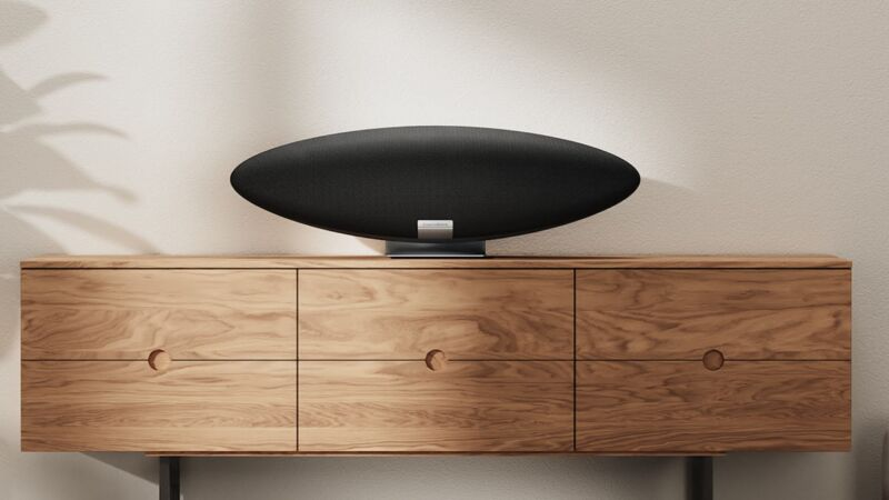 Read more about the article Alexa and Airplay 2 find $800, airship-shaped home in Bowers & Wilkins smart speaker