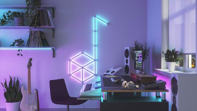 Read more about the article Nanoleaf Lines are customizable smart light bars