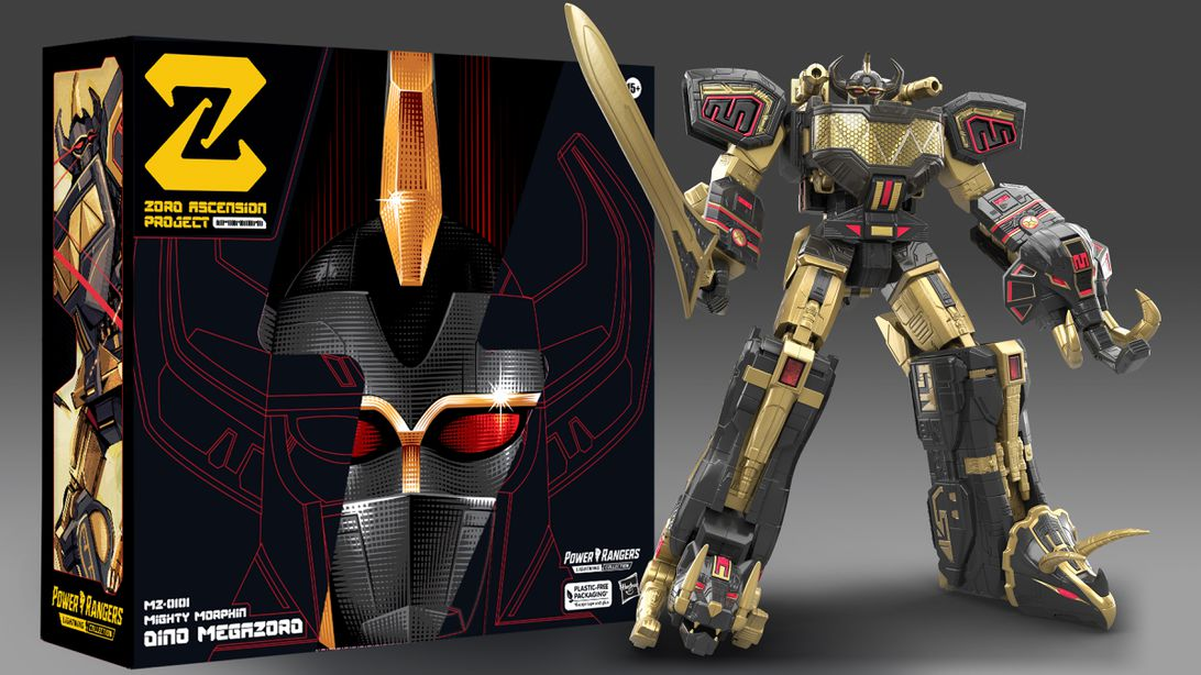 Read more about the article Power Rangers' first NFT lets you redeem for a darker-style Megazord for $200
